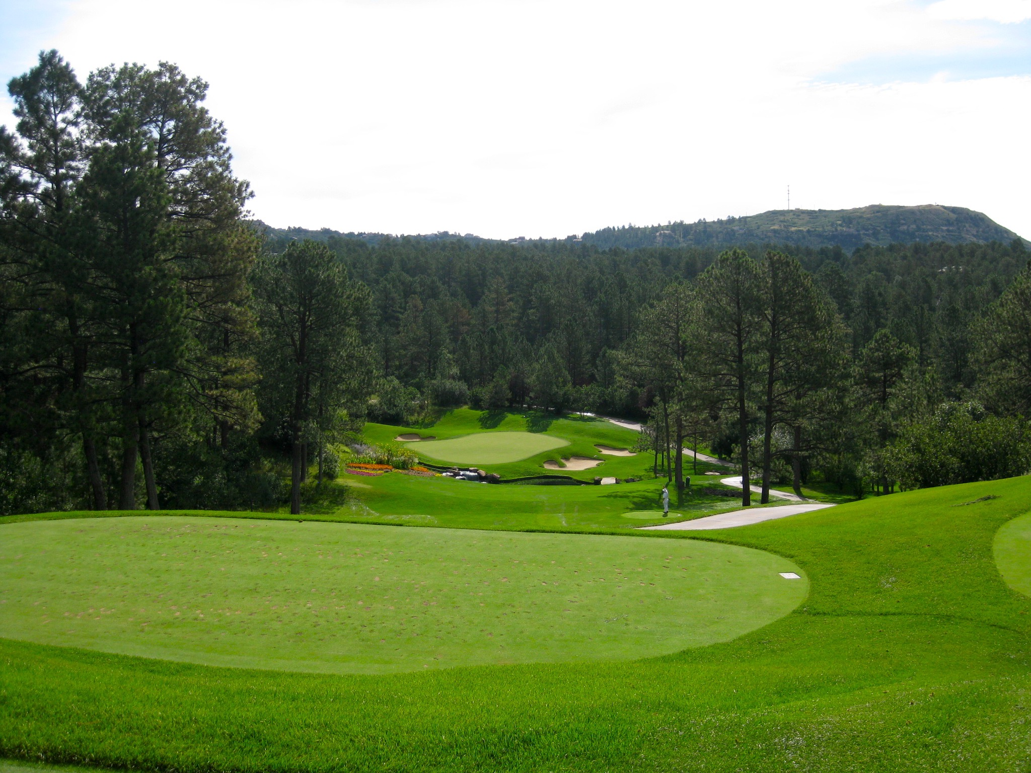 The best golf course in Colorado is...